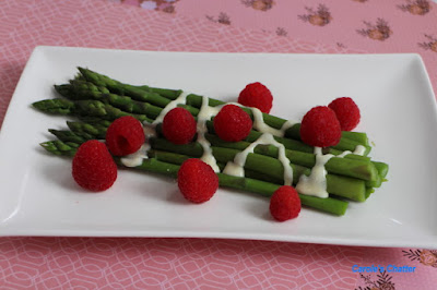Carole's Chatter: Asparagus and Raspberries - yes really!