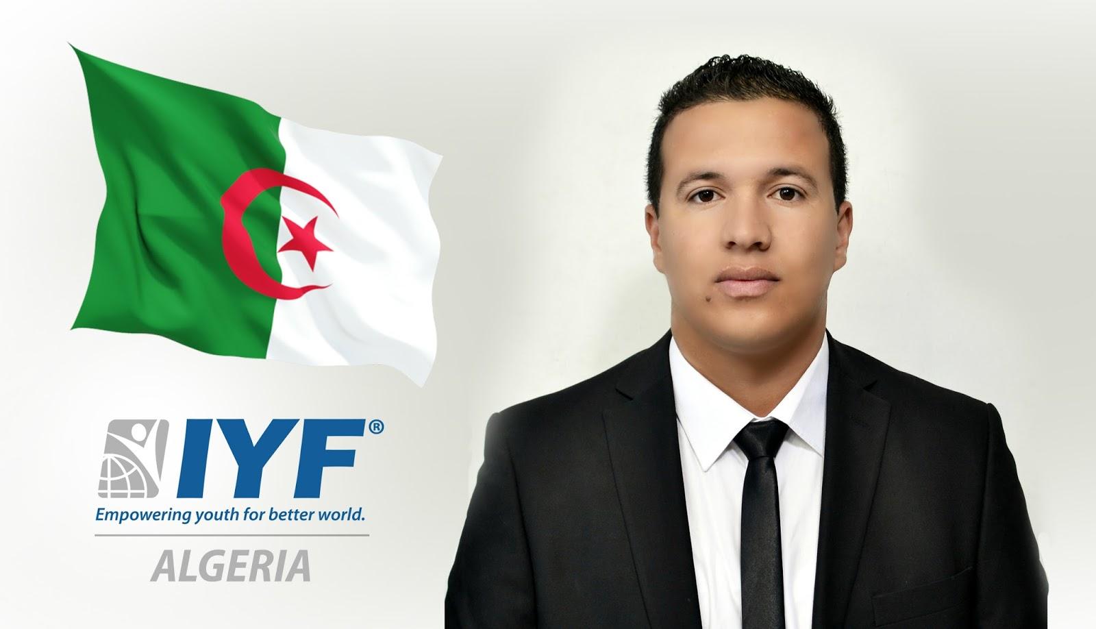 Oussama Founes, IYF Representative in Algeria.