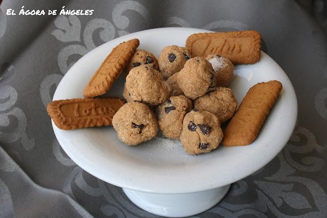 Bolitas de galletas