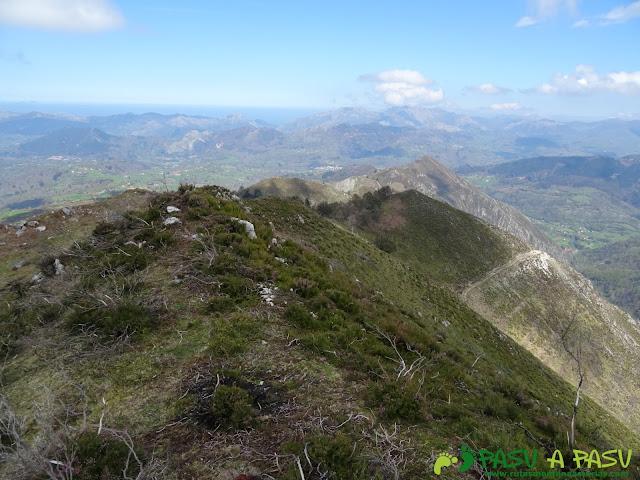 Bajando del Pico Cogolla