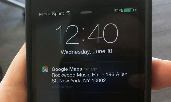Agora você pode enviar locais a partir do Google Maps para o seu dispositivo iOS