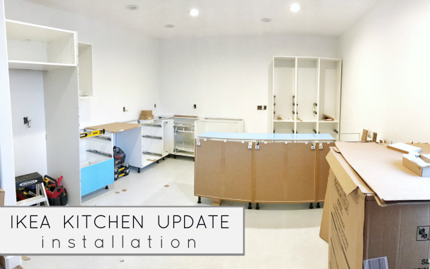 Ikea Kitchen Update Installation