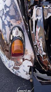 Volkswagen Beetle OILSLICK Taillight detail