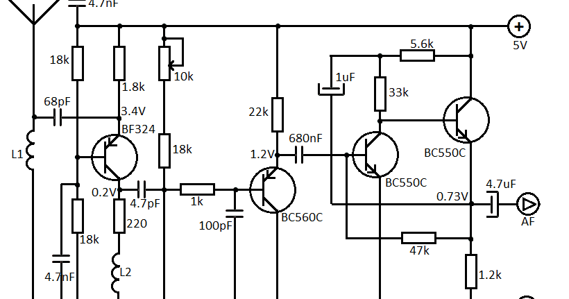 tube light electrical diagram