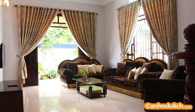 Phòng khách tại biệt thự Ali 6b