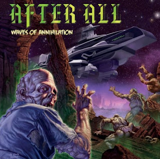 After All - waves of annihilation - cover album - 2016