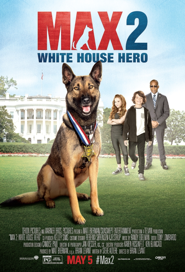 Max 2: White House Hero [2017] [DVDR] [NTSC] [Latino]