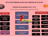 Download Aplikasi Pengolahan Nilai dan Cetak SKHU Tahun Pelajaran 2016/2017