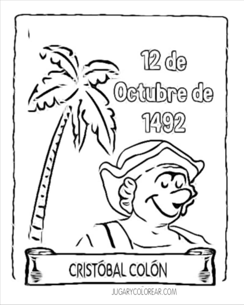 Blog de imágenes: Dibujos para colorear Cristóbal Colón ...