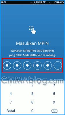 cara membeli token listrik internet banking mandiri
