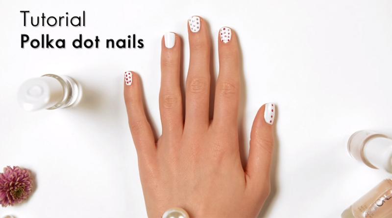 Polka Dot Nails: Como Fazer Passo a Passo