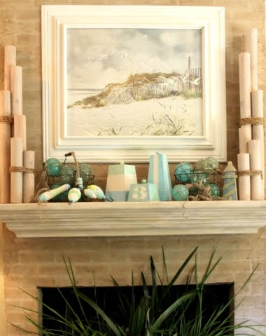 beach summer mantle