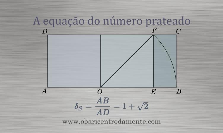 A equação do número prateado