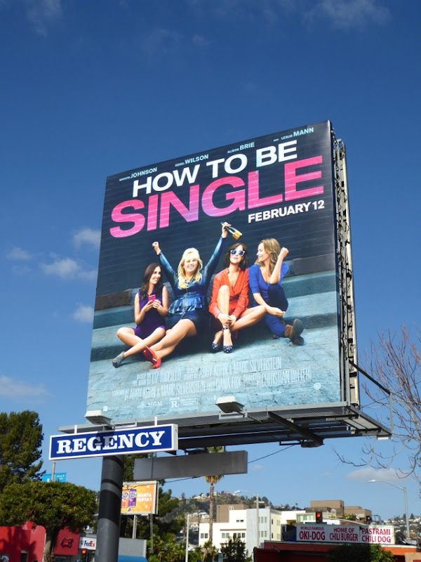 How to be Single billboard