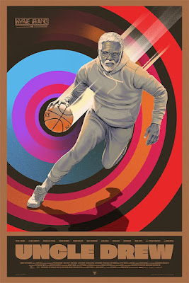 Uncle Drew Movie Poster Screen Print by Oliver Barrett x Mondo