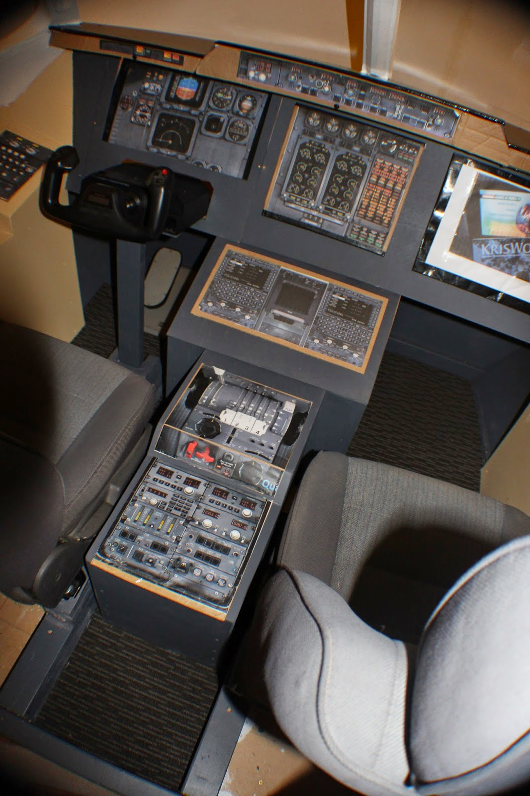 BAE 146 - Home Built Flight Sim: May 2015