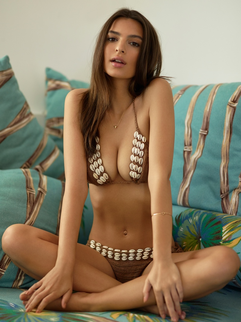 Emily Ratajkowski is sexy for the Revolve Summer 2015 Campaign