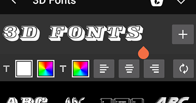 PicsArt Paid Fonts For Free - 1 | Ξffɘcts Fʌŋtʌsy