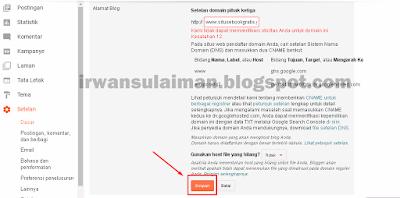 Cara Memasang Domain Dari Freenom Ke Blogspot