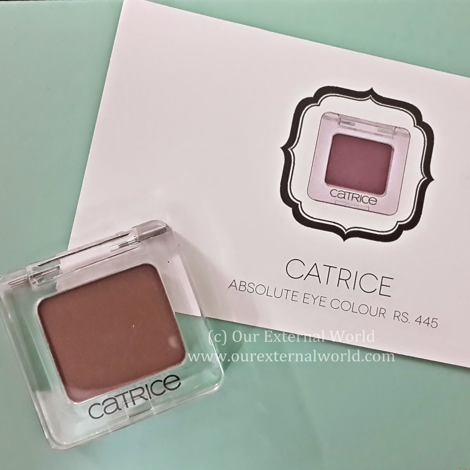 Unboxing: My Envy Box March 2015 Review, discount code, catrice, eye shadow