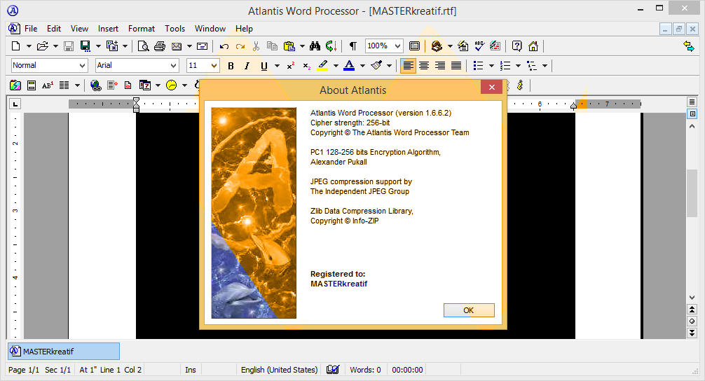 Atlantis Word Processor 1.6.6.2 Full Keygen