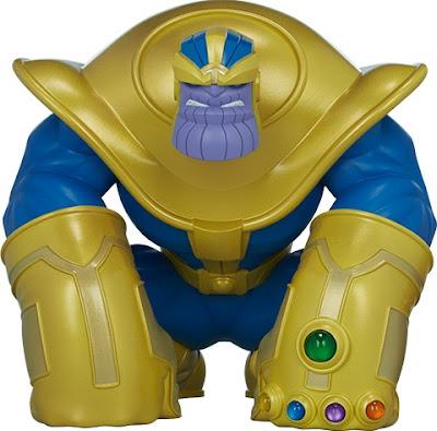"Thanos ""The Mad Titan"" Vinyl Figure by Joe DellaGatta x Unruly Industries x Sideshow x Marvel"
