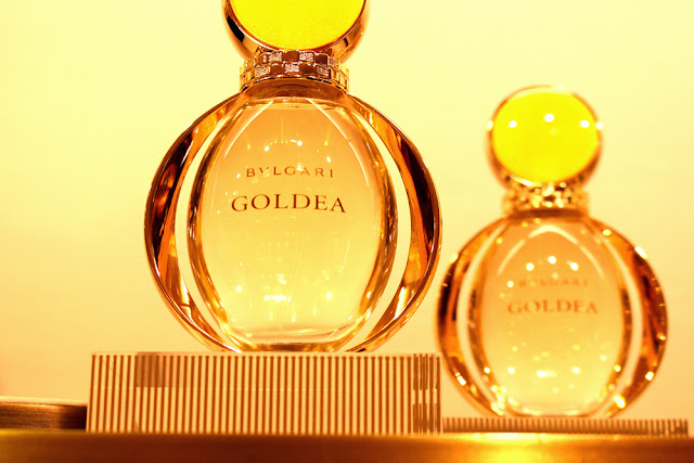 Bulgari Goldea new eau de parfum fragrance - London beauty blog