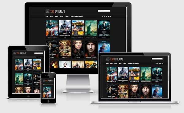 SiMuvi Template Blog Niche Review Film dan Games