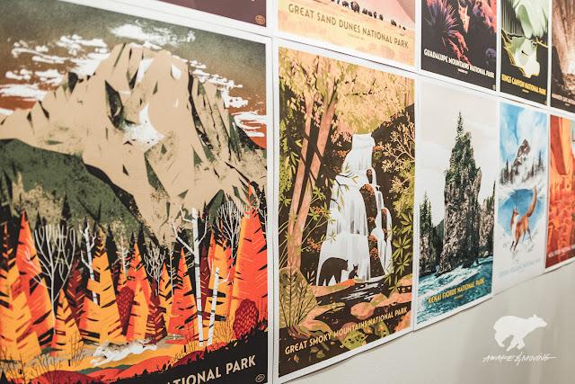 59 Parks Print Series. Austin, TX.