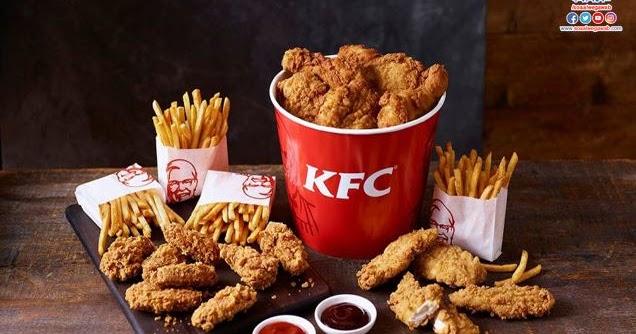 منيو وجبات كنتاكى Kfc السعوديه الجديد وعروض الوجبات العائليه والاسعار