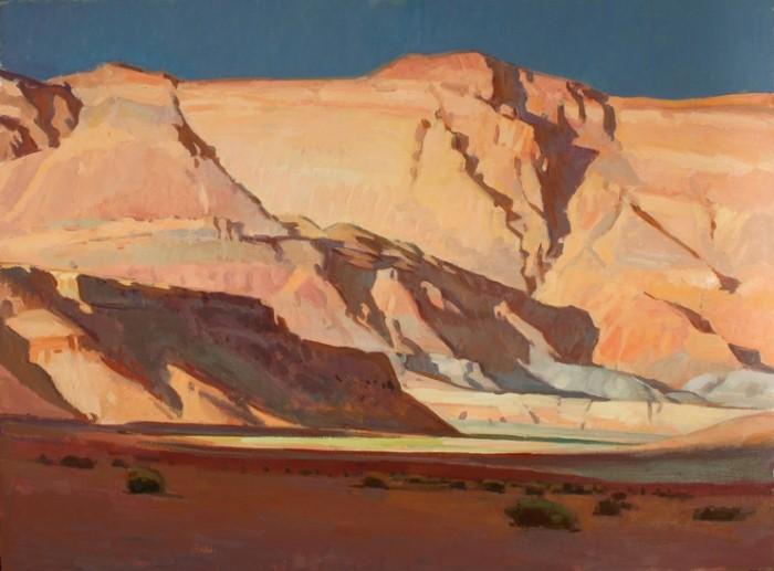 Горные пейзажи. G. Russell Case 7