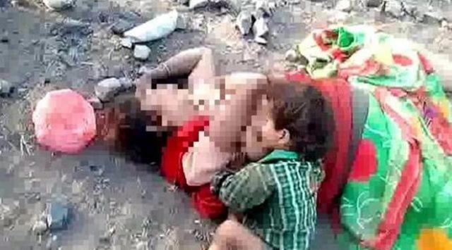 Tragis Pilu! Warga Temukan Balita Sedang Menyusu Ibunya yang Tewas