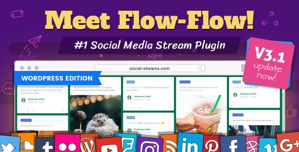 Flow-Flow v3.2.27 - WordPress Social Stream Plugin