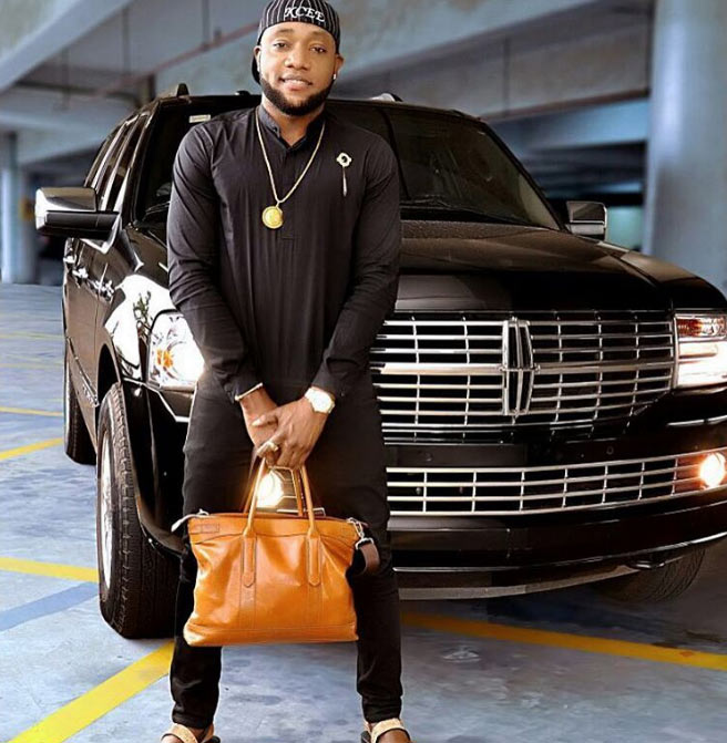 Kcee steps out with his 21m Lincoln Navigator, prays for his fans
