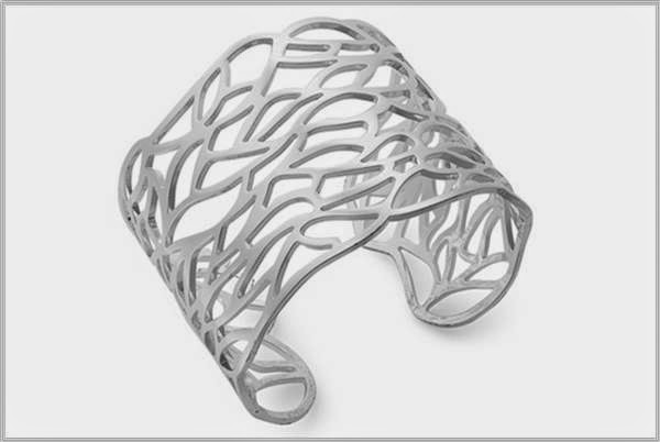 Silver Lace Cuff