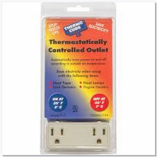 Thermostat controlled outlet Lowes