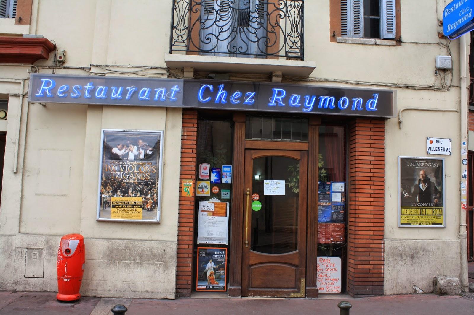 Chez Raymond Restaurant Toulouse