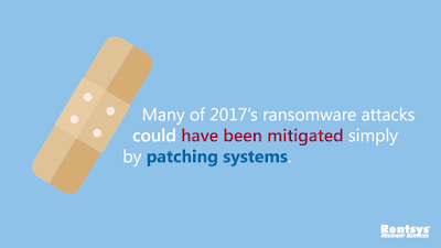 """Many of 2017's ransomware attacks could have been mitigated simply by patching systems."""