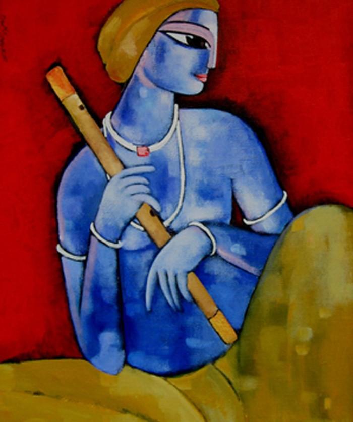 Sekhar Roy. Современный индийский художник 17