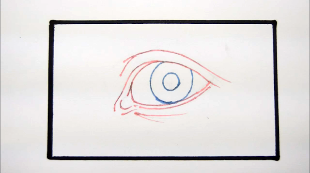 Tutorial Menggambar dan Mewarnai Mata