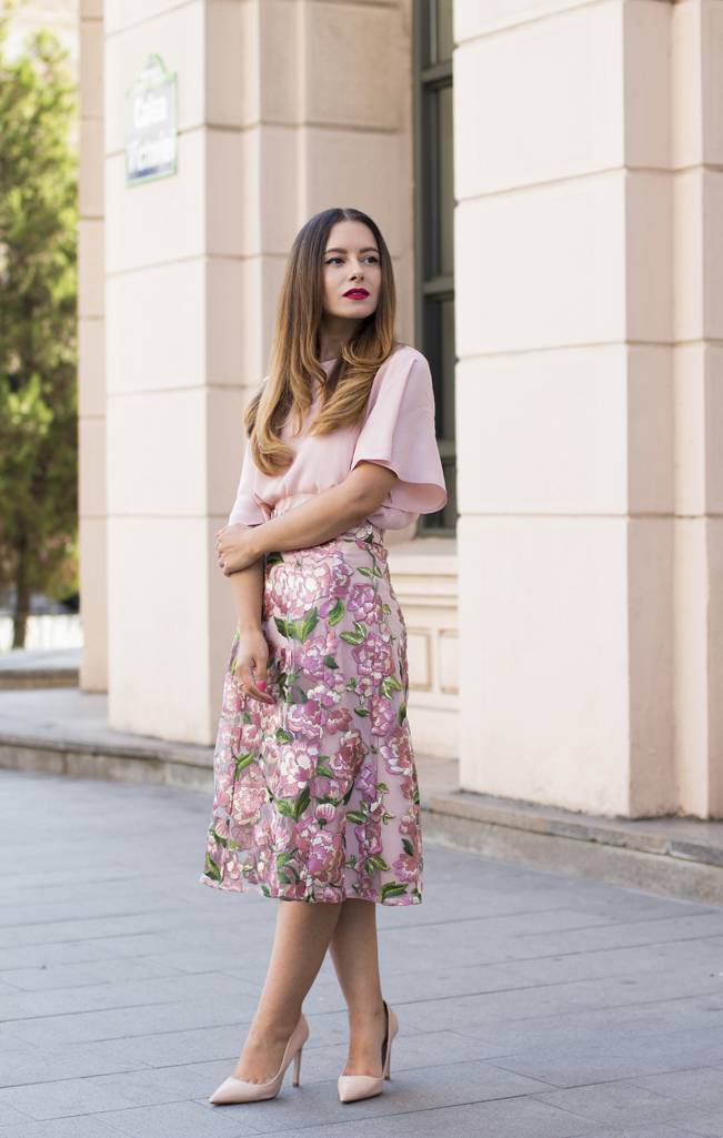 adina nanes how to wear a midi skirt
