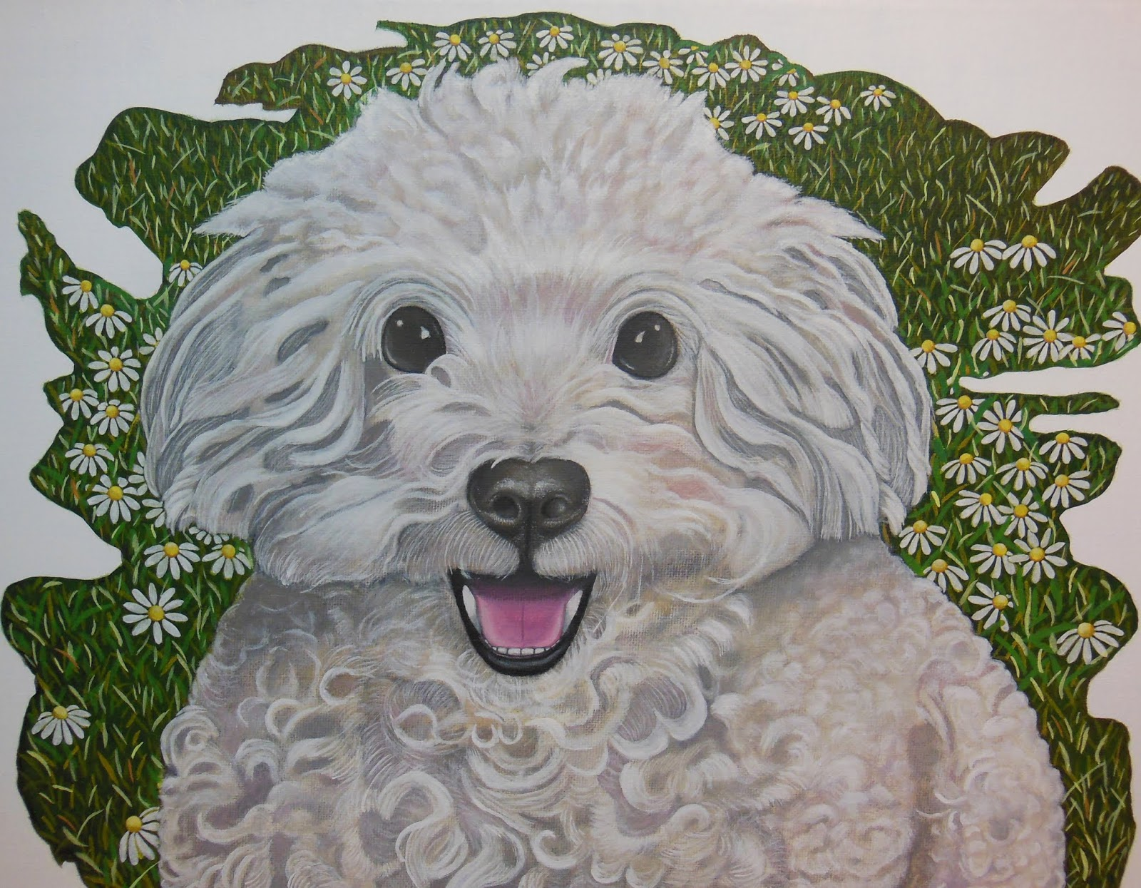 0130d51e327db Andrea's Pet Portrait Paintings: