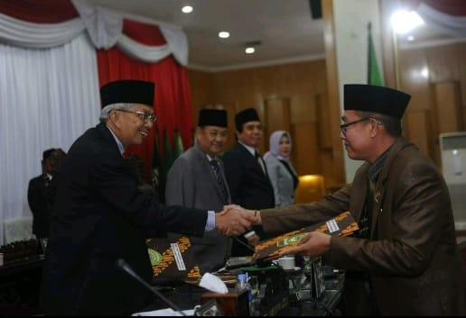 DPRD Sumsel Gelar Rapat Paripurna 51 Pemandangan Umum Fraksi Terhadap Raperda APBD