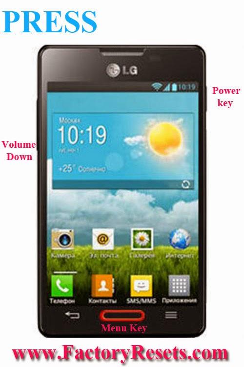 Hard Reset LG Optimus L4 II E440