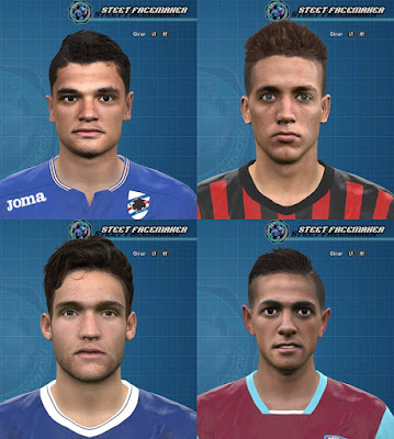 PES 2016 Facepack EUROPE By Steet Facepack