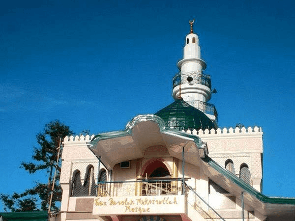 Beautiful Masjid In The Philippines Green Mosque Davao In Jizan Image