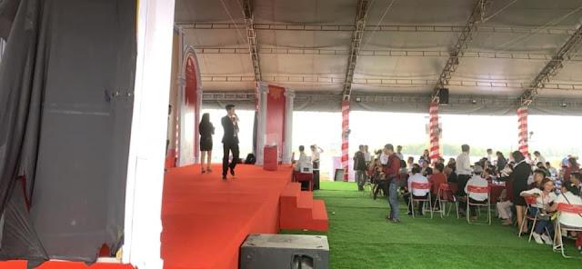Khách hàng tham quan dự án Cát Tường Phú Hưng sáng ngày 12/2018
