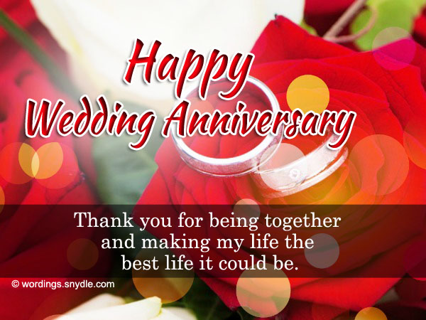 Wedding anniversary wishes for parents quotes in english
