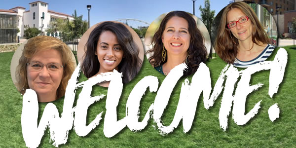 Welcome Karen, Sesen, Katie and Belén!