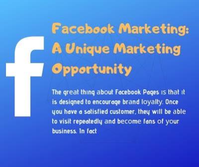 Facebook Marketing: A Unique Marketing Opportunity